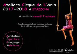 Atelier Cirque de L'Aria 2017 - 2018