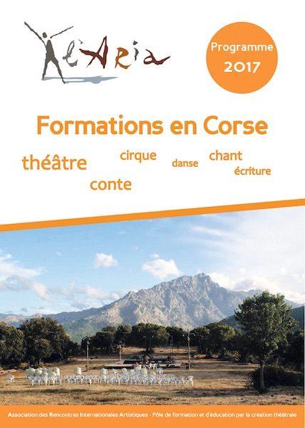 Plaquette programme de formation 2017