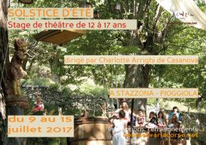 """Stage """"Solstice d'été"""" - séjour mineur 12 à 17 ans"""