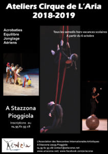 Atelier Cirque de L'Aria 2018 - 2019