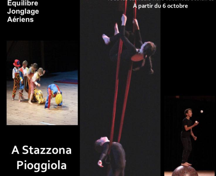 Atelier Cirque de L'Aria 2018 – 2019