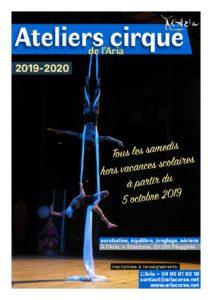 Atelier Cirque de L'Aria 2019 - 2020