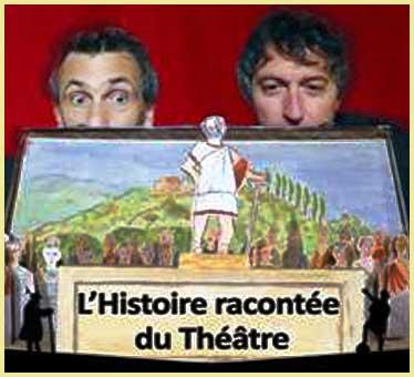 Cie Eclats de scènes «L'histoire racontée du théâtre»