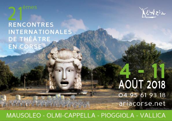 Les 21èmes Rencontres Internationales de Théâtre en Corse