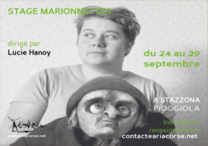 """Stage """"Marionnettes"""""""