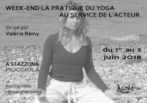 """Week-end """"La pratique du yoga au service de l'acteur"""""""