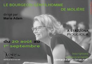 """Stage """"Le Bourgeois gentilhomme de Molière"""""""