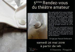 5èmes Rendez-vous du théâtre amateur