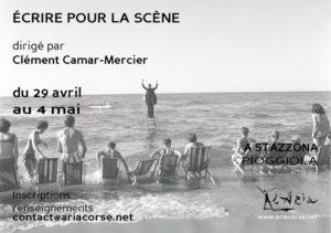 """Stage """"Écrire pour la scène"""""""