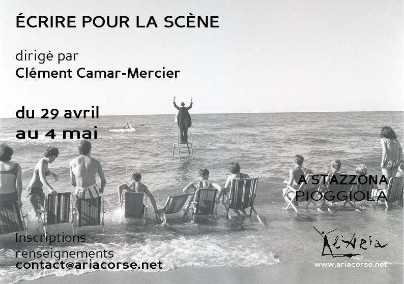 Stage «Écrire pour la scène»