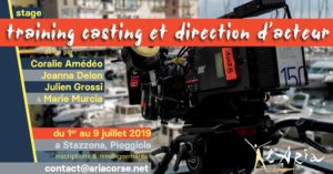 "Stage ""Training casting et direction d'acteur"""