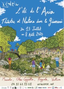 L'été de L'Aria, Théâtre et Nature dans le Giussani