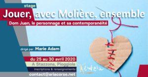 """Jouer, avec Molière, ensemble """"Dom Juan, le personnage et sa contemporanéité"""""""