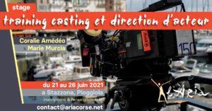 Training casting et direction d'acteurs