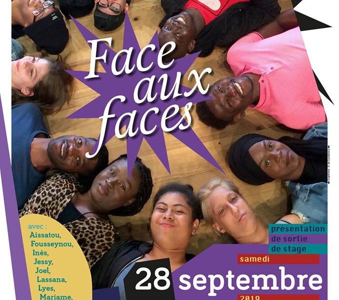 Présentation de sortie de stage : Face aux Faces