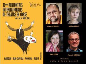 Les 23e Rencontres Internationales de Théâtre en Corse @ A Stazzona